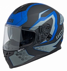 IXS 14082-M34 Шлем HX 1100 2.2 (matt-black-blue)