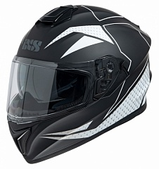 IXS 14079-M31 Шлем HX 216  (matt-black-white)