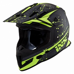 IXS 12034-M35 Шлем HX 361 2.0 (matt-black-green)