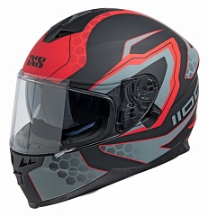 IXS 14082-M32 Шлем HX 1100 2.2 (matt-black-red)