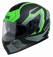 IXS 14082-M37 Шлем HX 1100 2.2 (matt-black-green)